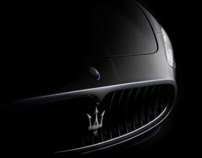 Maserati Granturismo fine art. (FDL technique)