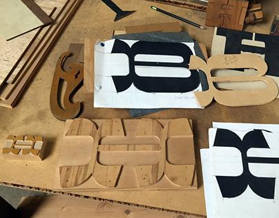 HWT Brylski - Wood & Digital Type Design