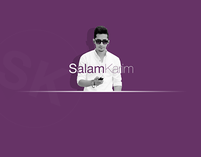 Salam Karim, Official Website