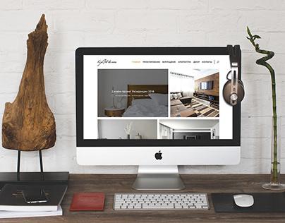 Дизайн сайта студии дизайна интерьеров l'Art de Vivre