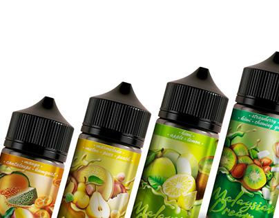 Malaysian Dream E-liquid | Label design