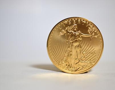 1 Oz American Gold Eagle Coins