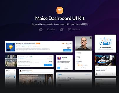 Maise Dashboard UI Kit