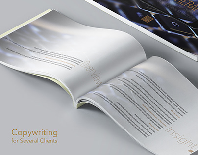Copywriting for Several Clients