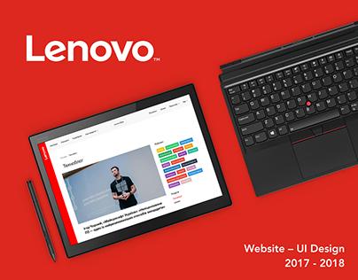 Lenovo Portal Website