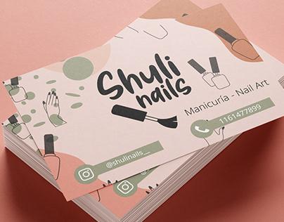 SHULI NAILS   Identidad Visual