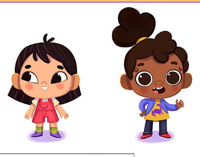 Personagens para jogo Infantil