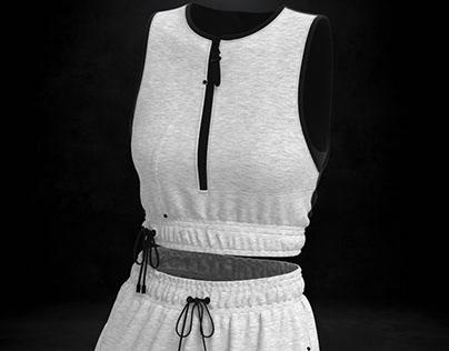 Virtual Garment Design-Athleisure'SS21