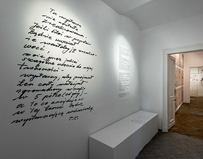 Realizacja wizualna projektu Tadeusz Kantor Brudnopisy