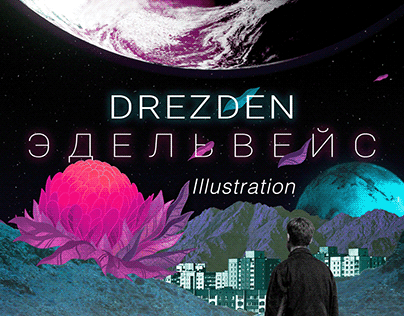 Drezden Edelweiss Illustration
