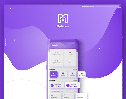 My Home - mobile Application UI