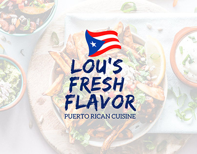 Lou's Fresh Flavor Website