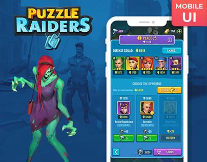 Puzzle Raiders: Zombie