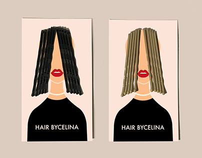 Hair by Celina Promo Business Cards