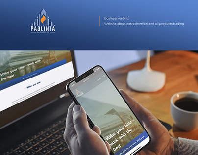 Paolinta | Business website card