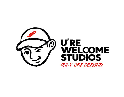 U're Welcome Studios - Logo design