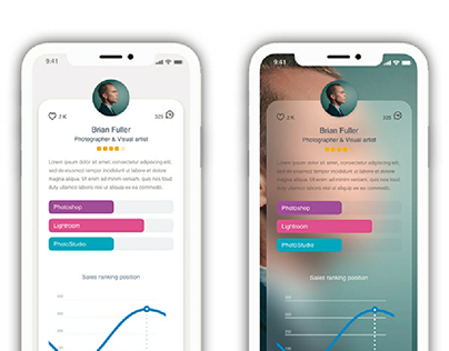 Freelances App / UxUI Design