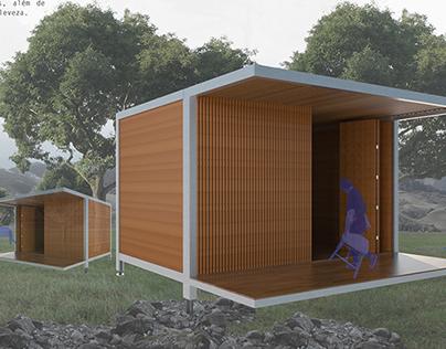Abrigo de emergencia ECOMODULAR - Casa bambu
