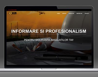 INTERSAFETY.RO - WEBSITE DESIGN