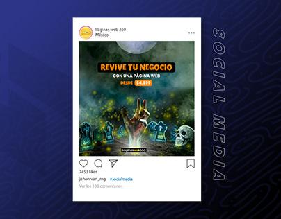 Páginas web 360 ▪ Social Media (campaña)