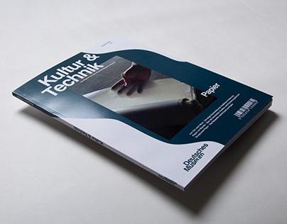 "Editorial Design ""Kultur & Technik"", Deutsches Museum"
