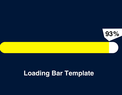 Loading Bar Template