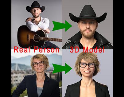 3D Modeling & Rigging