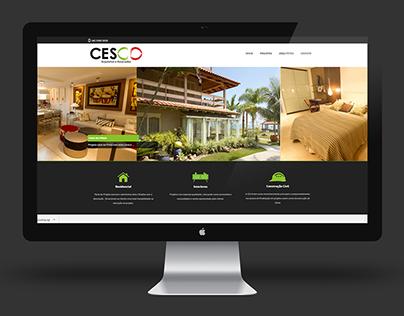 Web Design - Cesco Arquitetura