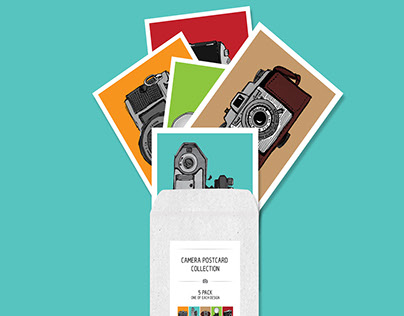 Camera Postcard Collection