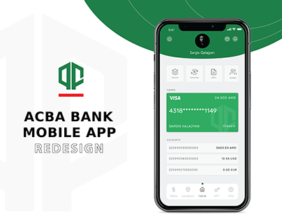 Mobile Bankking App Redesign UI/UX