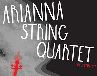 Arianna String Quartet - poster, CD, Animation.