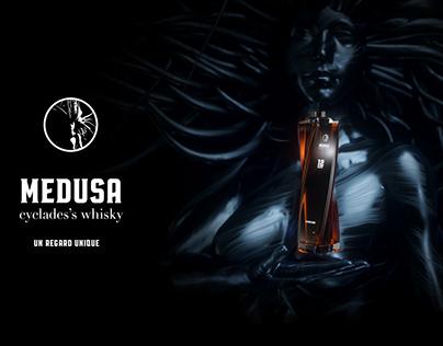 Médusa - 3d packaging & brand identity