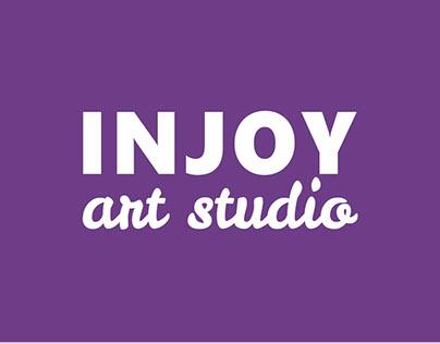 "Web site Art studio ""INJOY"""