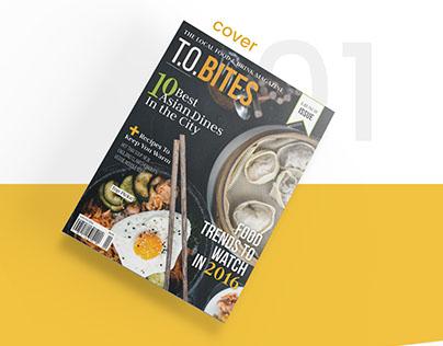 Editorial Design - T.O Bites
