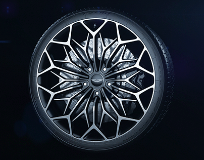 Aston Martin OHMSS Wheel