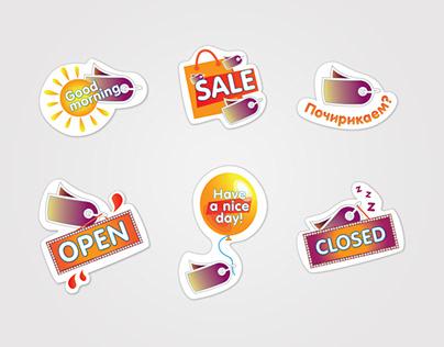 Стикеры для сообществаlet`s Shop