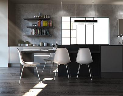 Interior 005 - Kitchen