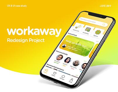 Workaway app case study(UX/UI)