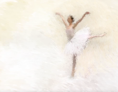 Impressionist Swan Lake Animation