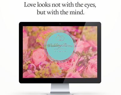 WeddingVideoRome website design