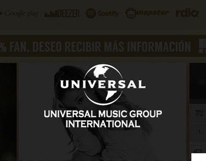 Landing Universal Music