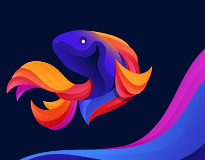 Fish Fantasy Illustration