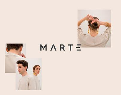 Wearing Marte