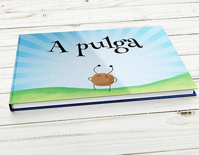 A pulga | Design de livro