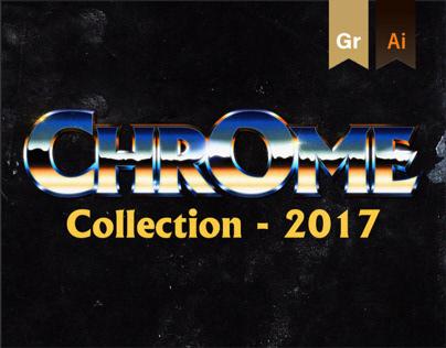 Chrome and Retro Logo Collection 2017