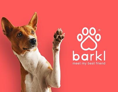 Barkl App - Brand Design