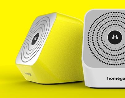 Homega - Wireless Kitchen Speaker Concept