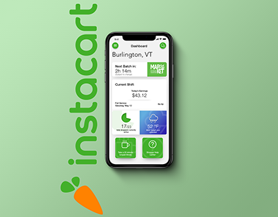 Instacart Shopper App Redesign