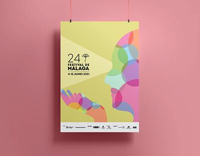 Cine: esperanza. 24 Festival de Málaga Poster