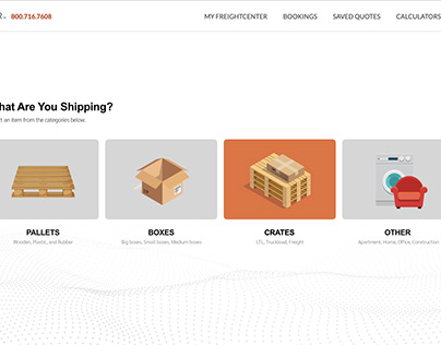 FreightCenter Order/Quote Dashboard - Concept